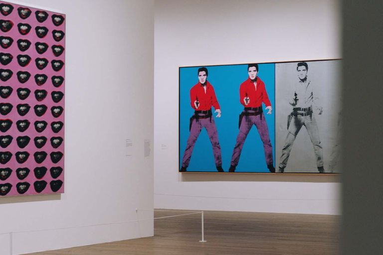 Andy Warhol pop art exhibition Tate Gallery